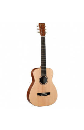 MARTIN LX1 LITTLE MARTIN ACOUSTIC GUITAR WITH PADDED GI..