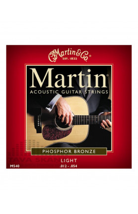 MARTIN M540 ACOUSTIC GUITAR STRINGS 92/8  PHOSPHOR, 012..