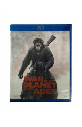 WAR OF THE PLANET OF THE APES (BD)