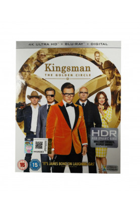 KINGSMAN: THE GOLDEN CIRCLE (4K UHD BD)