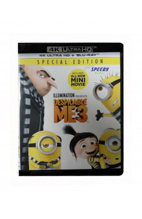 DESPICABLE ME 3 (4K UHD BD)