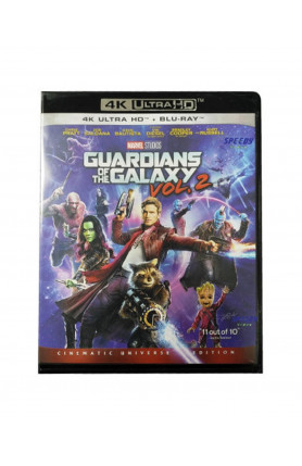 GUARDIANS OF  THE GALAXY VOL.2 (4K UHD BD)