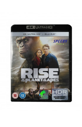 RISE OF THE PLANET OF THE APES (4K UHD BD)