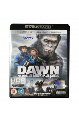 DAWN OF THE PLANET OF THE APES (4K UHD BD)