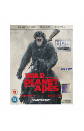 WAR FOR THE PLANET OF THE APES (4K UHD BD)