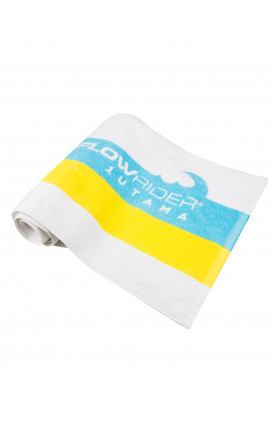 TOWEL - YELLOW AND BLUE WAVE