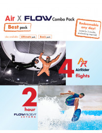 AIR X FLOW COMBO - BEST PACK (ADULT)