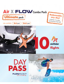 AIR X FLOW COMBO - ULTIMATE PACK (ADULT)