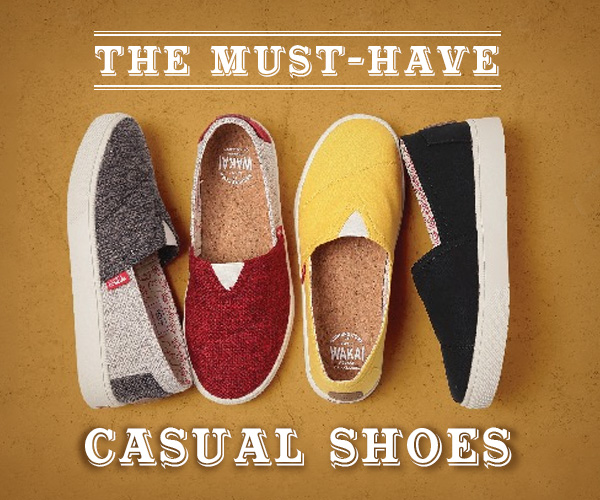The Must-Have Casual Shoes